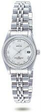 Invicta 9336 Women's Specialty Silver Dial Stainless Steel Bracelet Quartz Watch