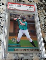 MIGUEL CABRERA 2000 Topps Chrome Traded Rookie Card RC PSA 9 Triple Crown Winner