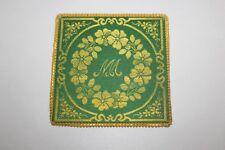 Pale Prêtre Calice Art Sacré Broderie  XIX ème Antique French Liturgique (f)