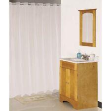 """Homebasix Xg-02-Wh Hookless Waterproof Shower Curtain,70""""X 72"""",Vinyl, White"""