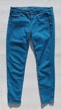 KUT from the KLOTH Blue Soft Stretch Denim BRIGITTE Ankle Zip Skinny Jeans sz 4
