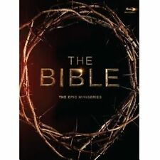 The Bible The Epic Miniseries Blu-ray 2013 Diogo Morgado 4 Disc