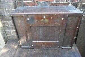 Vintage 7 Drawer Toolmaker's Cabinet with Key