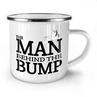 Man Behind NEW Enamel Tea Mug 10 oz   Wellcoda