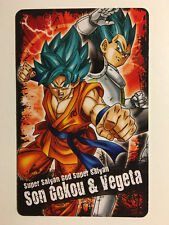 Dragon Ball Kai Super Card Gum (2) SSGSS Son Goku - Vegeta
