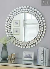 Selena Crystal Surround Wall Mirror Contemporary Style