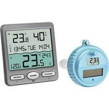 Nouvelle annonce Thermomètre de piscine TFA Dostmann VENICE Funk-Pool-Thermometer anthracite