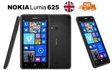Nueva marca Nokia Lumia 625 Negro 8GB 3G Desbloqueado Windows Teléfono 1 Año De Garantía