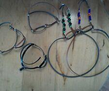 Breyer Stone Hartland Marx horse two bridles three stock halters beads