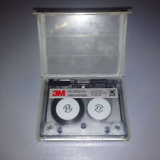1 Used 3M DC-2000 Mini Data Tape Cartridge 40 MB with Holders.