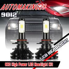 Pair 9012 HIR2 LED Headlight Bulb for 2017 Toyota RAV4 C-HR Corolla 1040W 6000K