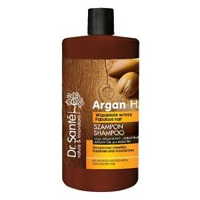 Dr Sante Shampoo Argan Oil and Keratin Cleanses Moisturizes Damage Hair 1000ml
