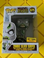 Funko POP! Zombie Silver Surfer #675 Marvel Zombies Hot Topic Exclusive IN HAND
