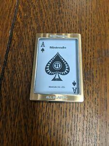 Vintage Nintendo Playing Cards
