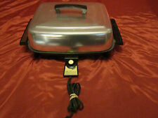 Lektro West Bend Miracle Maid Auto Electric 1400w Griddle Skillet #3661