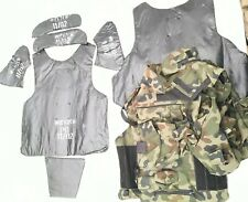 Tactical Body Armour with Kevlar Vest Bulletproof Protection Camouflage level II