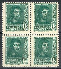 ESPAÑA 1938 - EDIFIL 841A** - BLOQUE DE 4 - FERNANDO EL CATÓLICO - MNH.