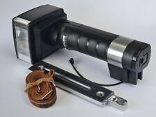Metz 45 CT-1 Hammerhead Flash, Bracket, Strap, Sync Cable, Working *Please Read*