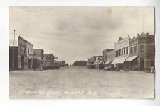 1934 Platte, South Dakota, Main St. South RPPC