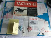 vintage board game - Tactics II Realistic War Game from Avalon Hill game company