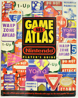 NES Game Atlas 1991 Official Nintendo Player's Guide 176 Pgs Paperback
