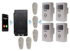 Covert Battery Powered 3G GSM UltraDIAL Alarm supplied with 4 x PIR with Sirens