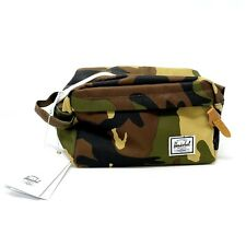 Herschel Supply Co. Chapter Travel Kit Toiletry Bag Woodland Camouflage Print