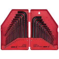 Grip Tools 92180 30 Piece Hex Key Set MM/SAE