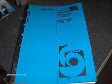 Bang & Olufsen Service Manual Beocord 6000  & Beocord 8002
