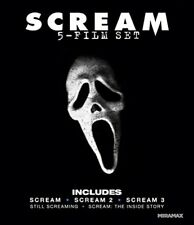 Scream (all 3 movies) Blue ray, New, Free shipping