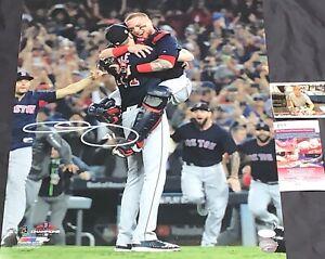 Chris Sale Red Sox 2018 World Series Signed 16x20 Photo JSA WITNESS COA V