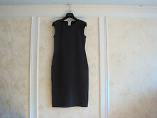NWT $630 Wolford Gent Dress  XS  Beluga/Black  55022