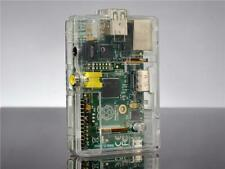 Raspberry Pi Model B Clear Case with GPIO Cut-Outs and Slots