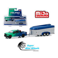 Greenlight 1/64 Hitch & Tow Falken Tires 2017 Ford F-150 with Aerovault 51244