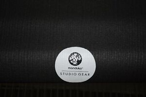 Manduka Studio Gear NEW Dark Gray Yoga Pilates Mat 70.75 x 23.5 6mm HIGH QUALITY