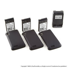 3 x 3500mAh Extended Battery for Motorola Atrix 4G MB860 Cover Dock Charger