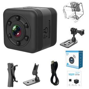 SQ29 IP Camera HD 1080P WIFI Small Mini Camera Cam Video Sensor Night Vision UK