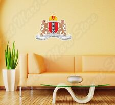 Amsterdam Coat Of Arms Netherlands Flag Wall Sticker Room Interior Decor 25
