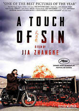 A Touch of Sin (DVD, China, Mandarin w/ English subtitles, Region 1, 2013, 2014)
