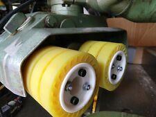 Expandable Hub And Flexible Polyurethane Wheels For Power Feeder Stock Feeder