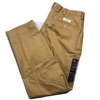 Polo Ralph Lauren Flat Prospect Straight Khaki Chino Golf Classic Pants 38x30