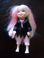 2006 Mattel Kelly Barbie Little Baby Sister Blonde And Pink Hair Blue Eyes Doll