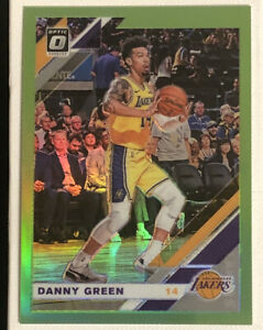 2019-20 Donruss Optic #70 DANNY GREEN Rare Lime Green Prizm Mint /149