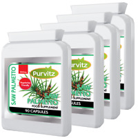 360 Saw Palmetto Vegetarian Friendly capsules 2500mg STRONG PROSTATE Support