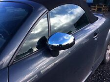 AUDI TT MK1 CHROME ABS DOOR MIRROR COVER'S,98-06.