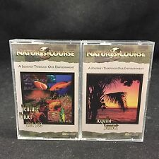 NATURE'S COURSE-TWO CASSETTE TAPES-VENTURE UNDER THE SEA&TEQUILA SUNSET