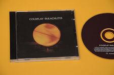 CD (NO LP ) COLDPLAY PARACHUTES 1°ST O RIG 2000 TOP EX AUDIOFILI LIBRETTO