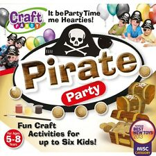 Pirate Party Craft Kit birthday entertainment fun activities GIFT IDEA FOR BOYS