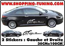 KIT LATERAL STICKERS BAS DE CAISSE ALFA ROMEO GT COUPE