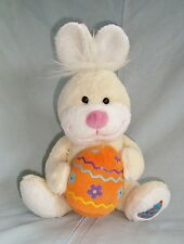 Doudou musical lapin & son oeuf Gipsy (19cm)